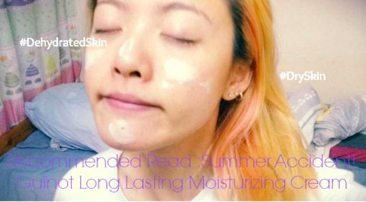 Summer Accident! Guinot Long Lasting Moisturizing Cream