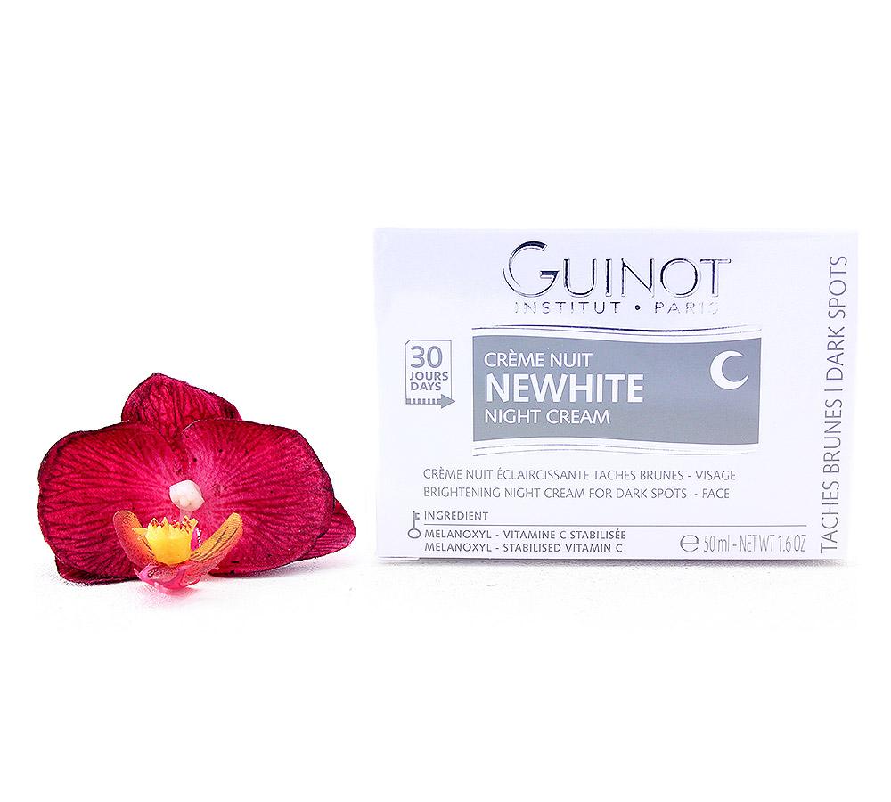 505400. Guinot Newhite Creme Nuit Eclaircissante - Brightening Night Cream 50ml