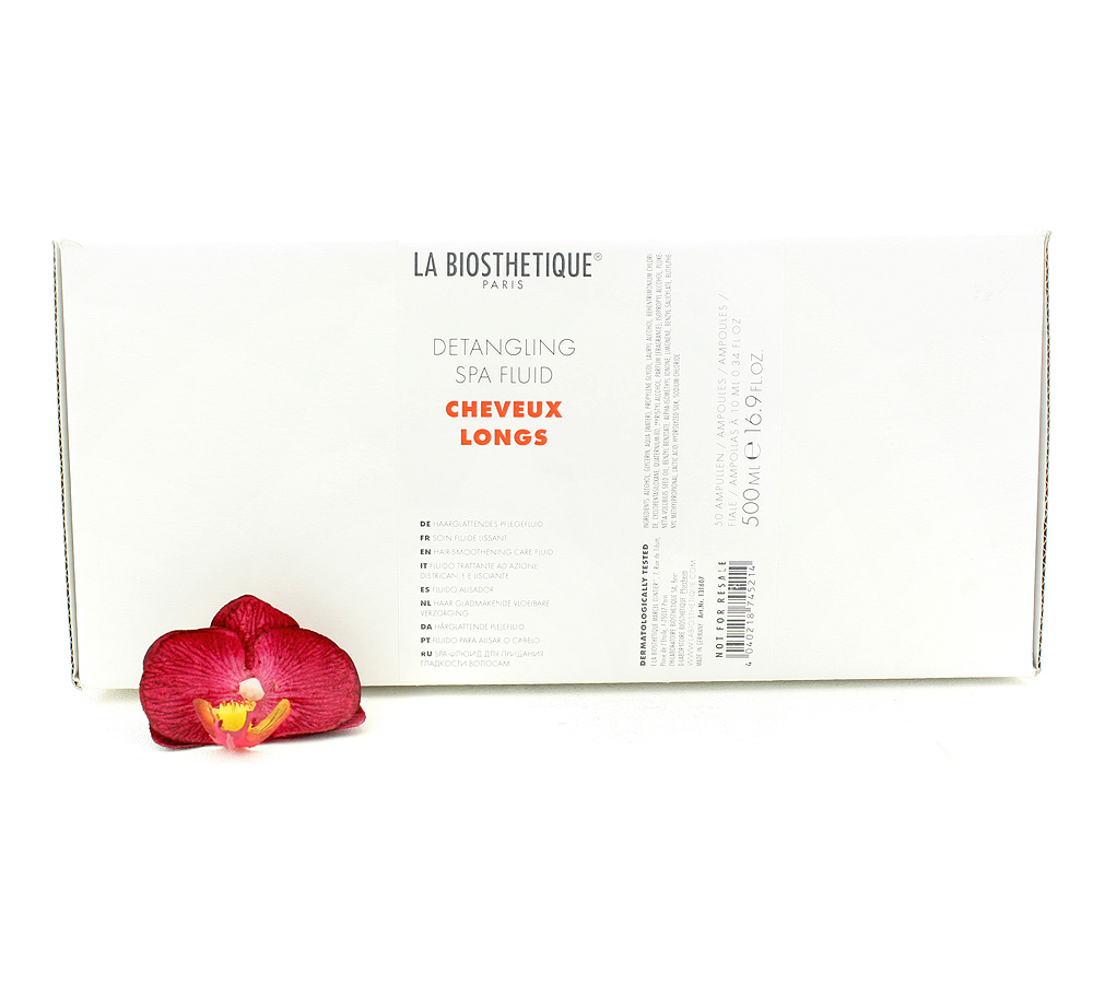 131807 La Biosthetique Cheveux Longs Detangling Spa Fluid - Hair-Smoothening Care Fluid 500ml