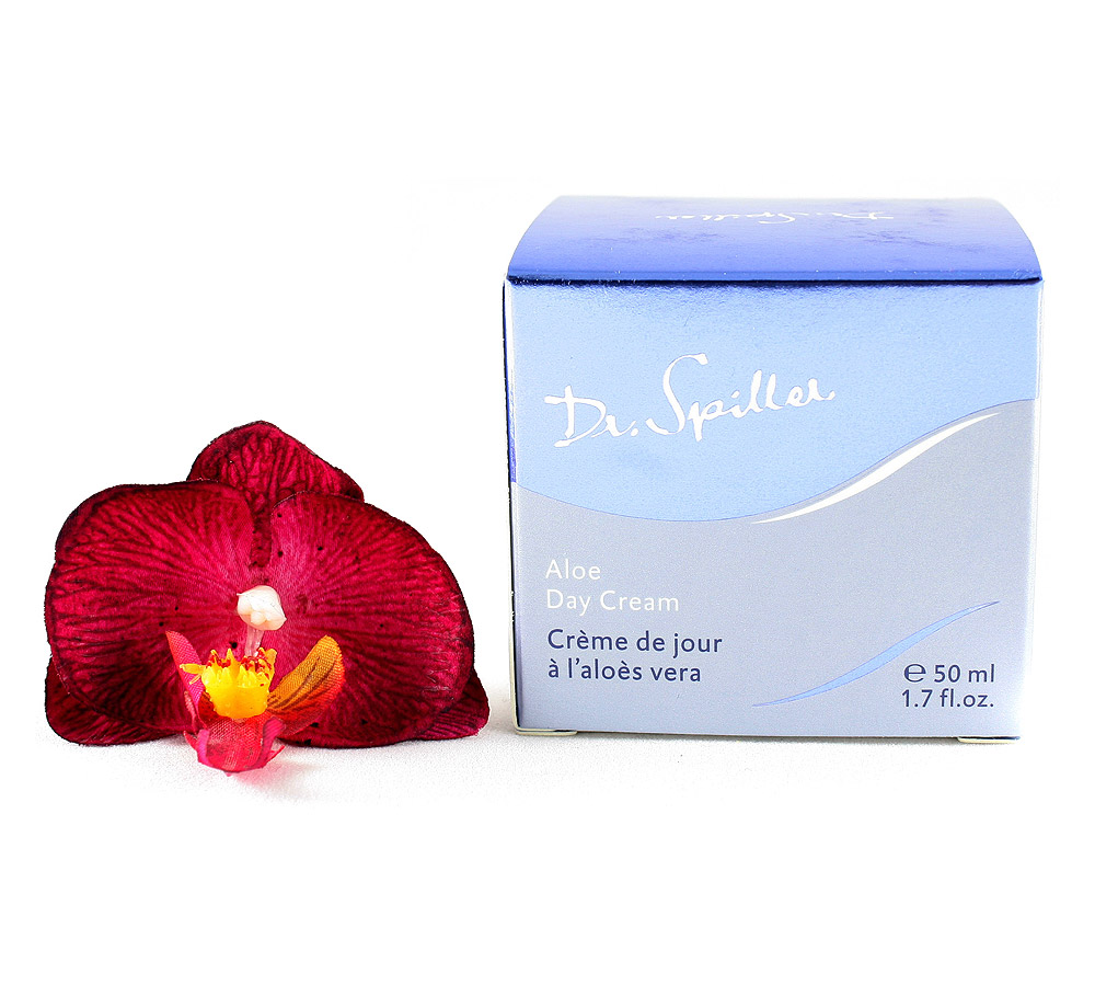 105507 Dr. Spiller Biomimetic Skin Care Crème de Jour à l'Aloès Vera 50ml
