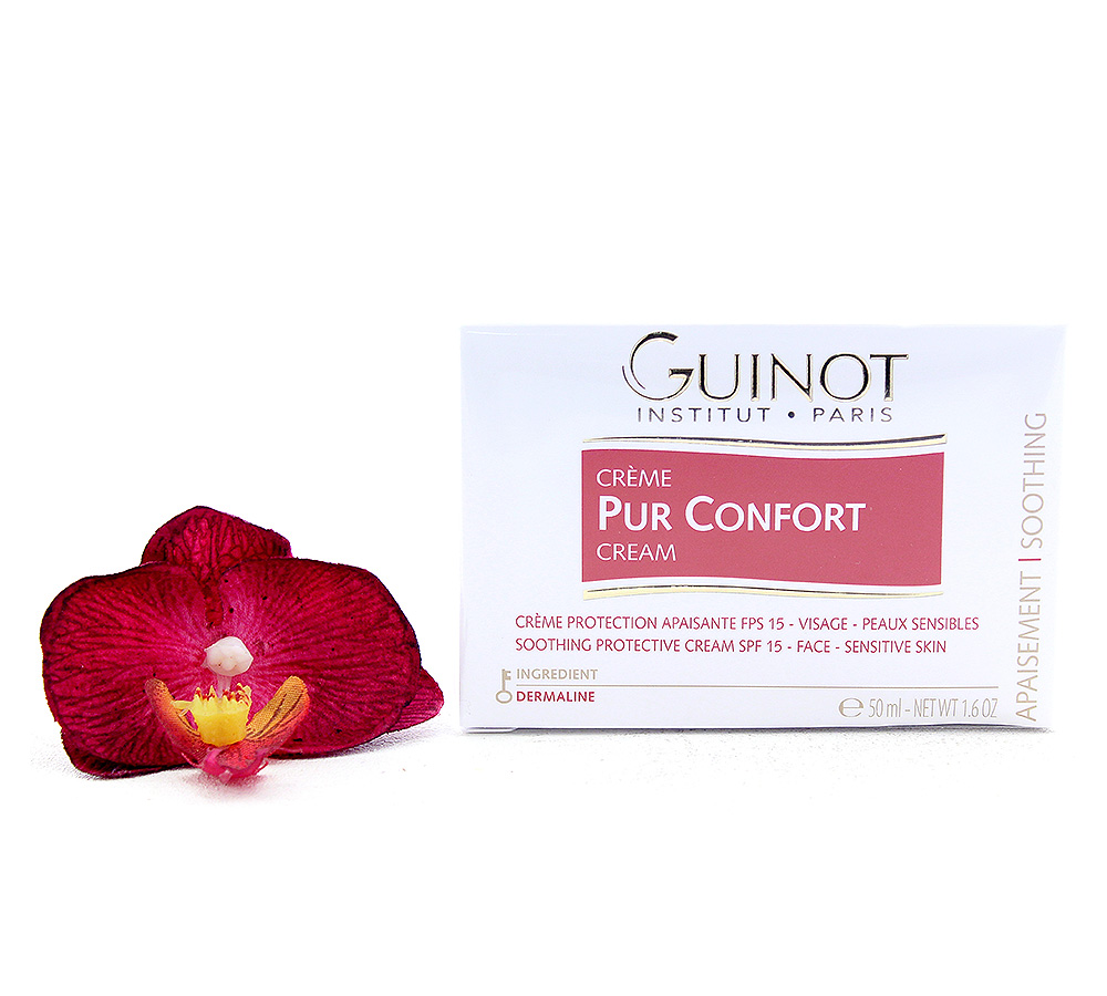 507400-1 Guinot Creme Pur Confort - Soothing Protective Face Cream SPF15 50ml