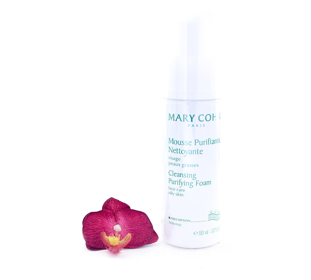 741230-2 Mary Cohr Mousse Purifiante Nettoyante - Cleansing Purifying Foam 150ml
