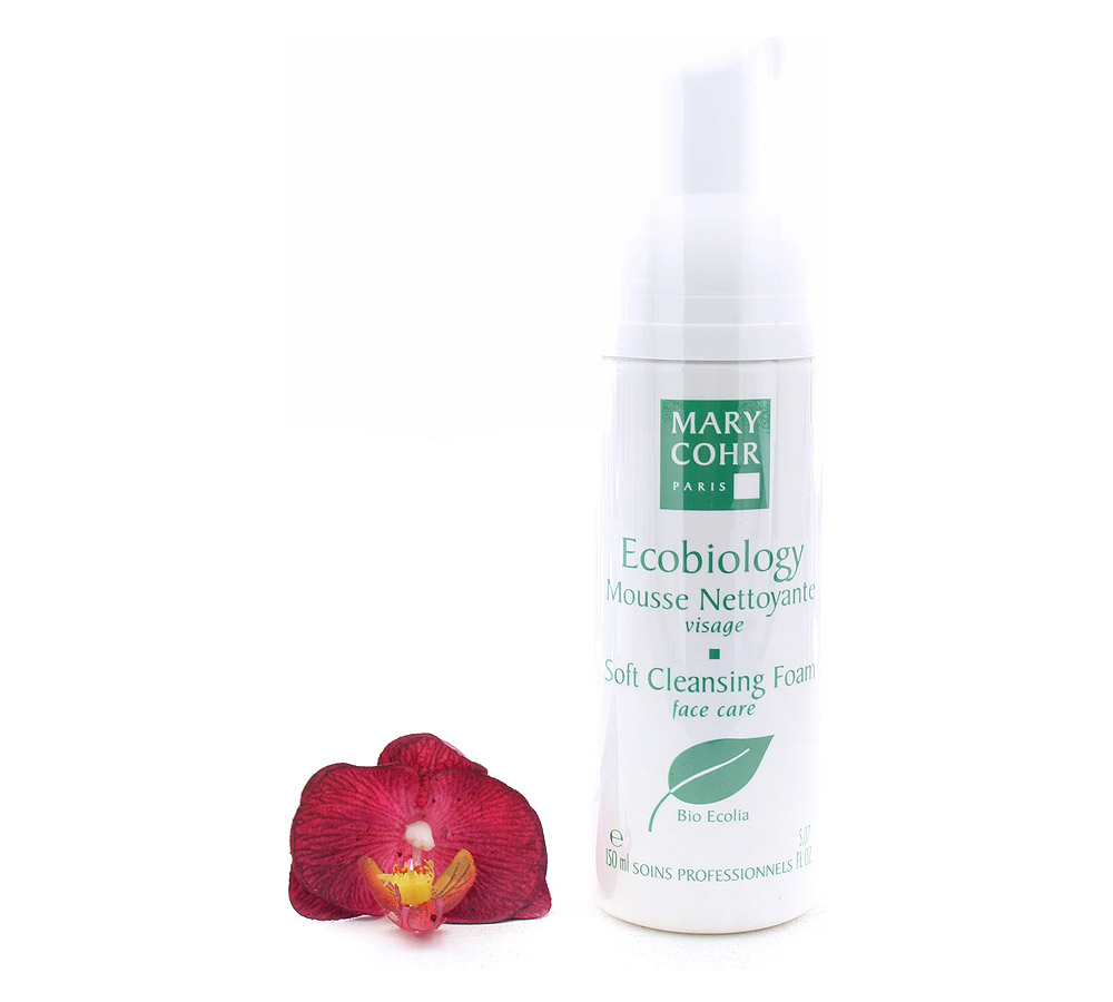 741250 Mary Cohr Ecobiology Mousse Nettoyante - Soft Cleansing Foam 150ml