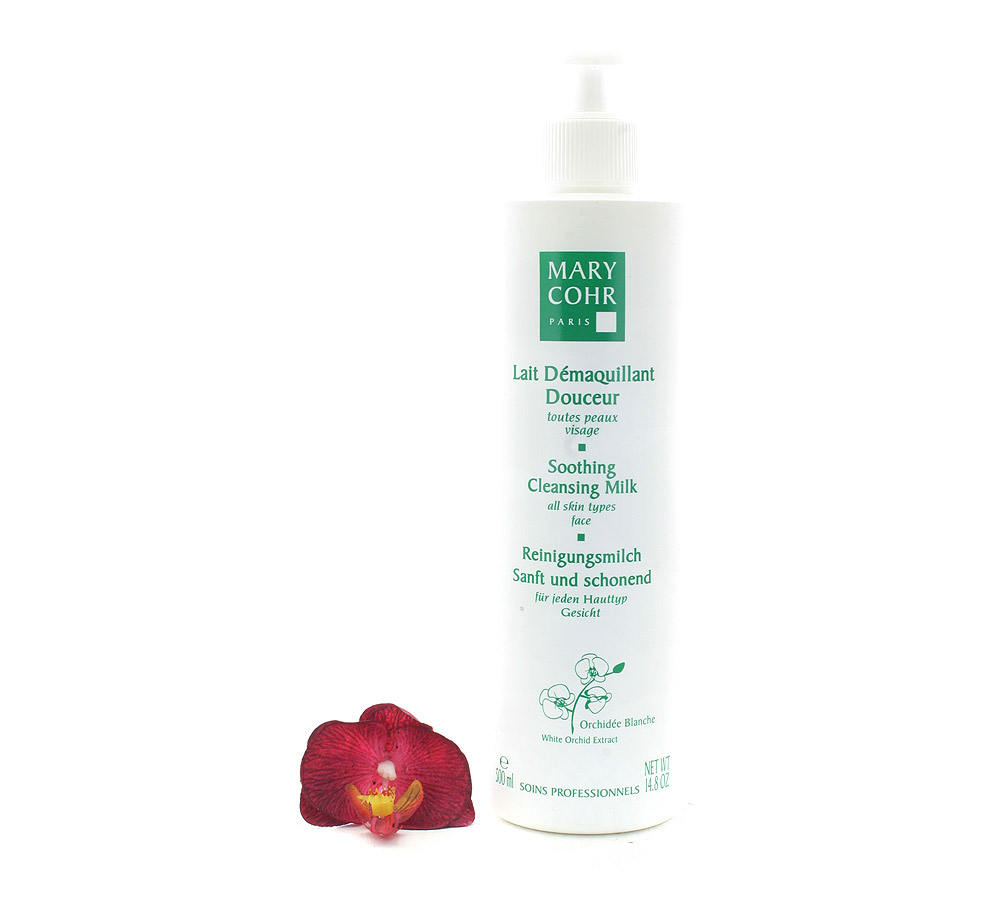 792040 Mary Cohr Lait Demaquillant Douceur - Soothing Cleansing Milk 500ml