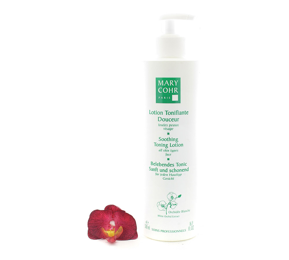 792050 Mary Cohr Lotion Tonifiante Douceur - Soothing Toning Lotion 500ml