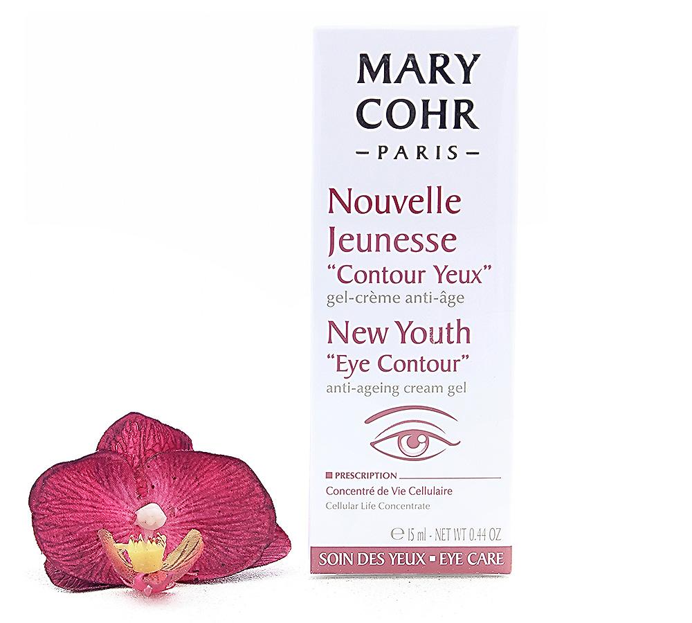 "857232-1 Mary Cohr Nouvelle Jeunesse ""Contour Yeux"" - New Youth ""Eye Contour"" 15ml"