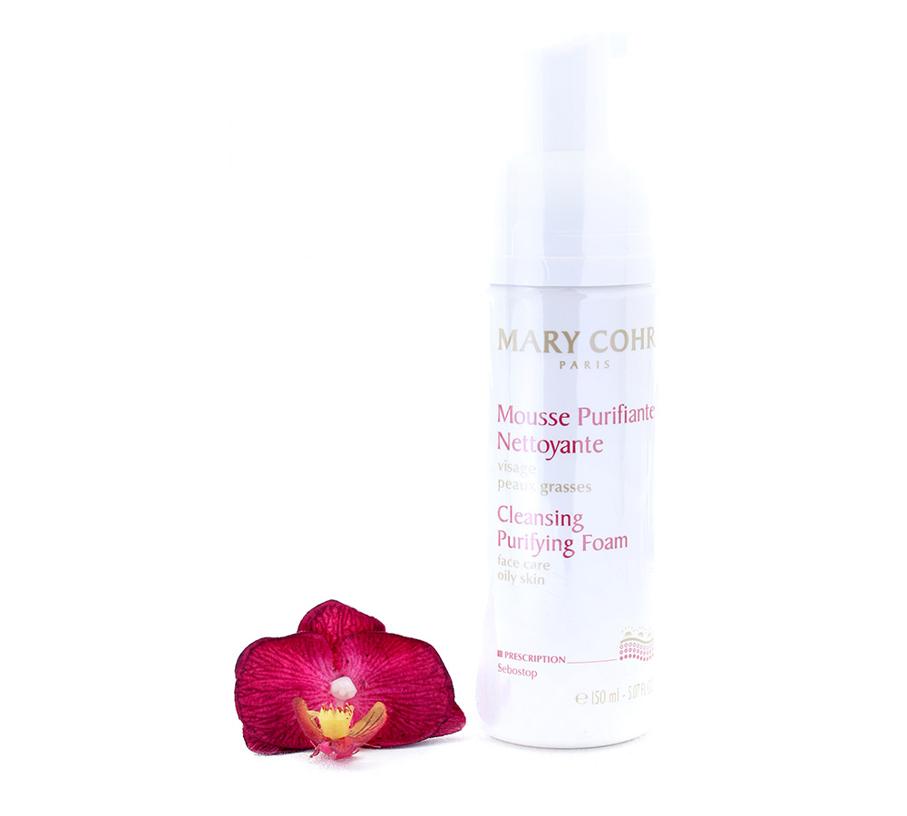 860580 Mary Cohr Mousse Purifiante Nettoyante - Cleansing Purifying Foam 150ml
