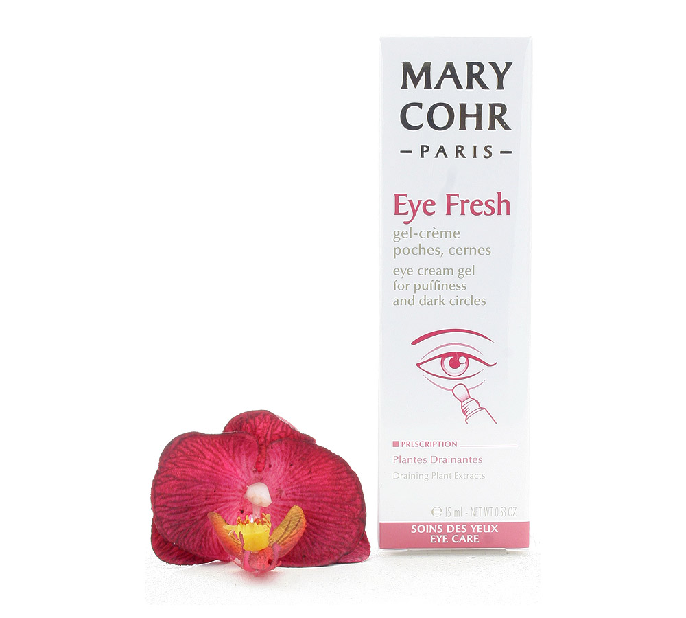 893140 Mary Cohr Eye Fresh - Eye Cream Gel for Puffiness and Dark Circles 15ml