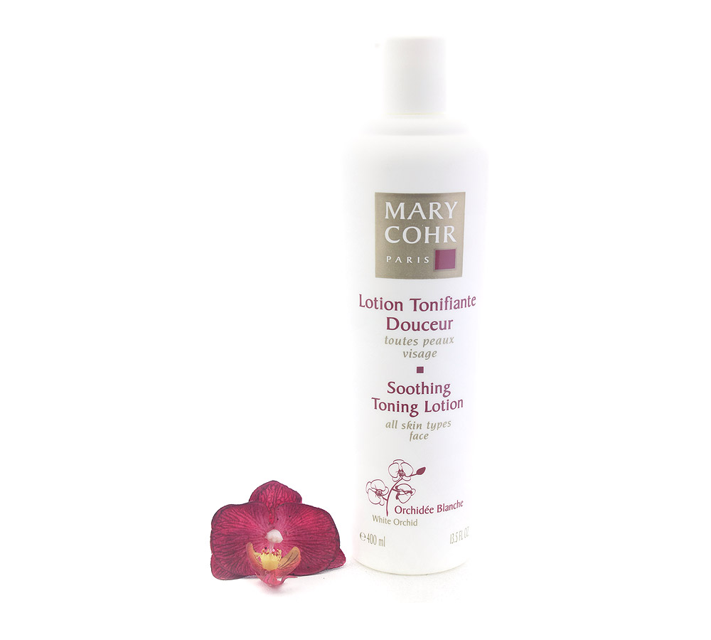 892090 Mary Cohr Lotion Tonifiante Douceur - Soothing Toning Lotion 400ml