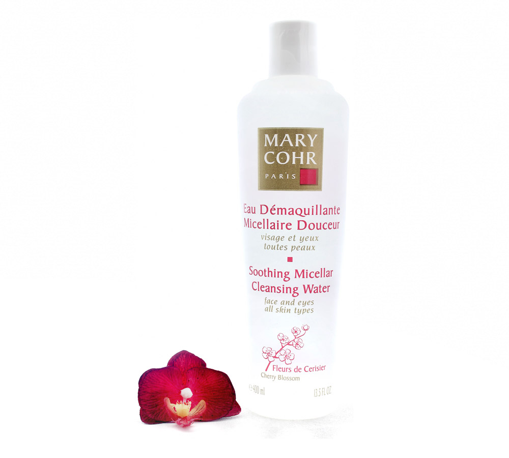 892440 Mary Cohr Eau Demaquillante Micellaire Douceur - Soothing Micellar Cleansing Water 400ml