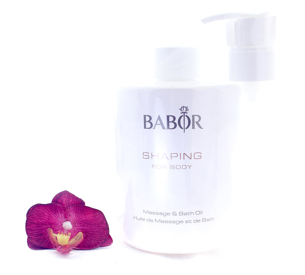 425698 Babor Shaping for Body Massage & Bath Oil 500ml
