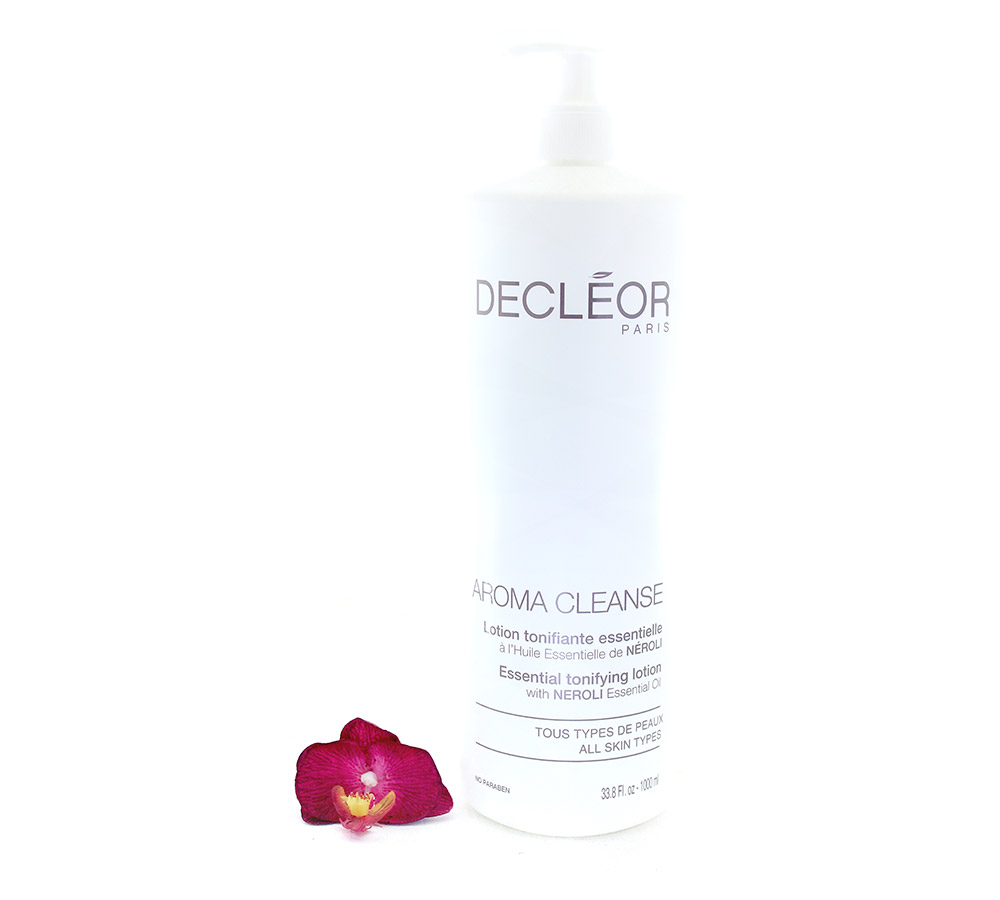 DR461051-1 Decleor Aroma Cleanse Lotion Tonifiante Essentielle - Essential Tonifying Lotion 1000ml