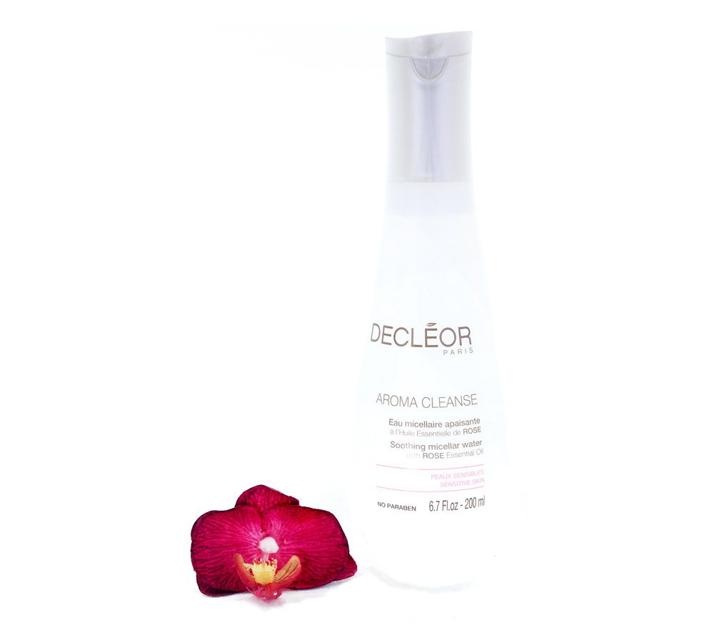 DR466000 Decleor Aroma Cleanse Soothing Micellar Water - Eau Micellaire Apaisante 200ml