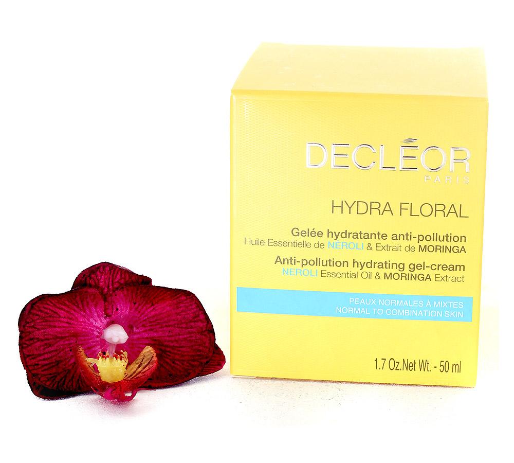DR563000 Decleor Hydra Floral Gelée Hydratante Anti-Pollution - Anti-Pollution Hydrating Gel-Cream 50ml