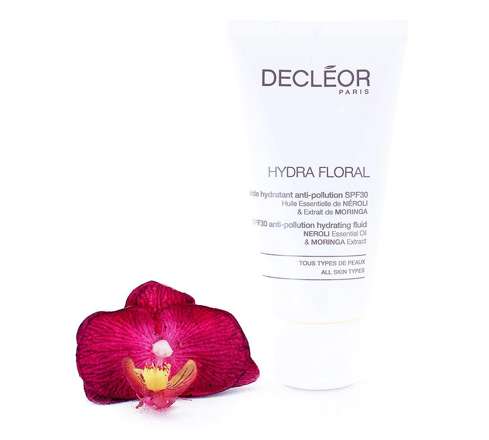 DR561050 Decleor Hydra Floral Fluide Hydratant Anti-Pollution LSF30 - Anti-Pollution Hydrating Fluid 50ml