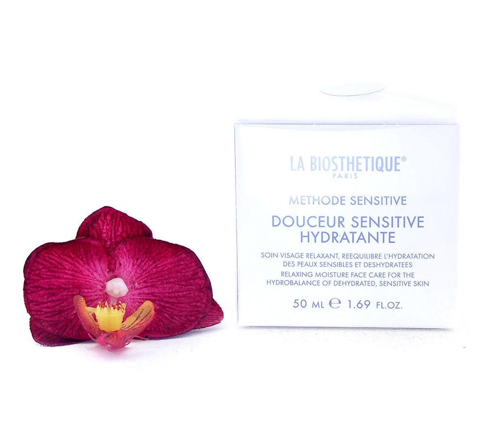 003625 La Biosthetique Douceur Sensitive Hydratante - Entspannende Feuchtigkeits-Gesichtspflege für die Hydrobalance Entfeuchteter, Empfindlicher Haut 50ml