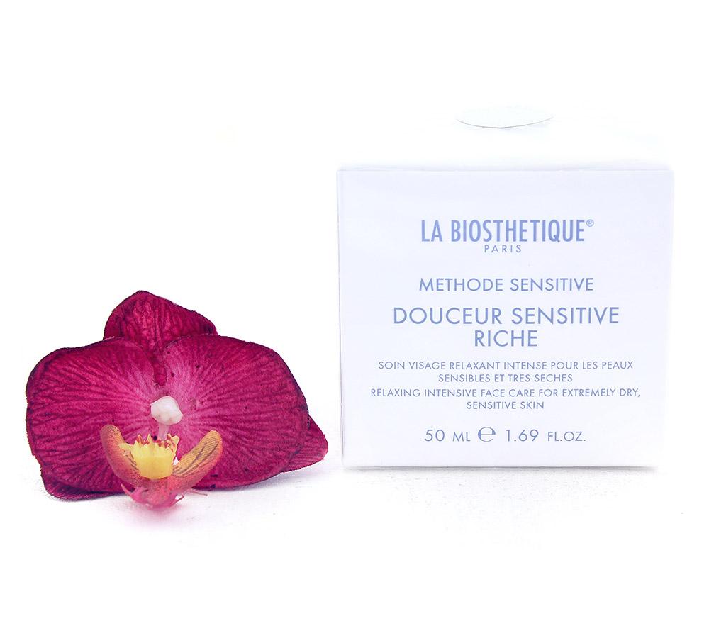 003640 La Biosthetique Douceur Sensitive Riche - Relaxing Intensive Face Care for Extremely Dry, Sensitive Skin 50ml