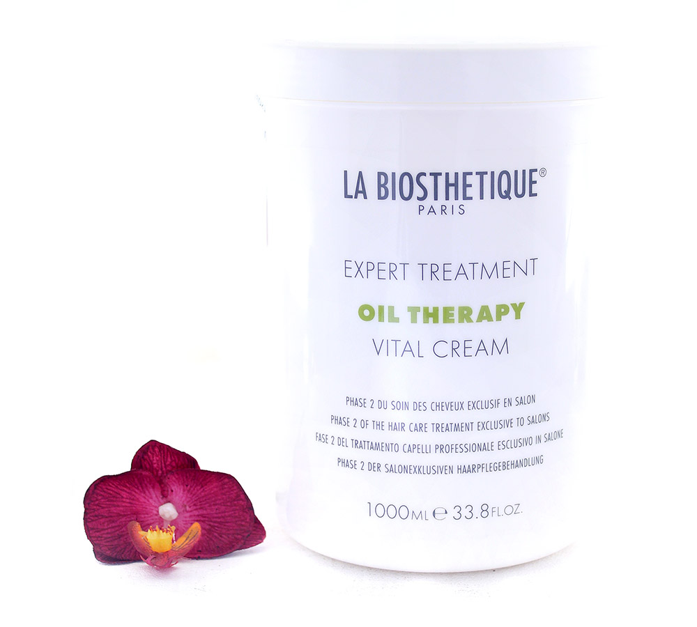 130817 La Biosthetique Expert Treatment Oil Therapy Vital Cream - Phase 2 of The Hair Care Treatment Exclusive to Salons 1000ml