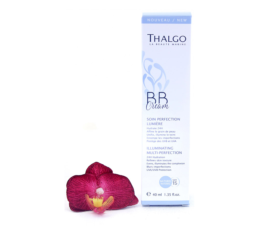 VT17012 Thalgo BB Cream Soin Perfection Lumière - Illuminating Multi-Perfection LSF15 - Naturel 40ml