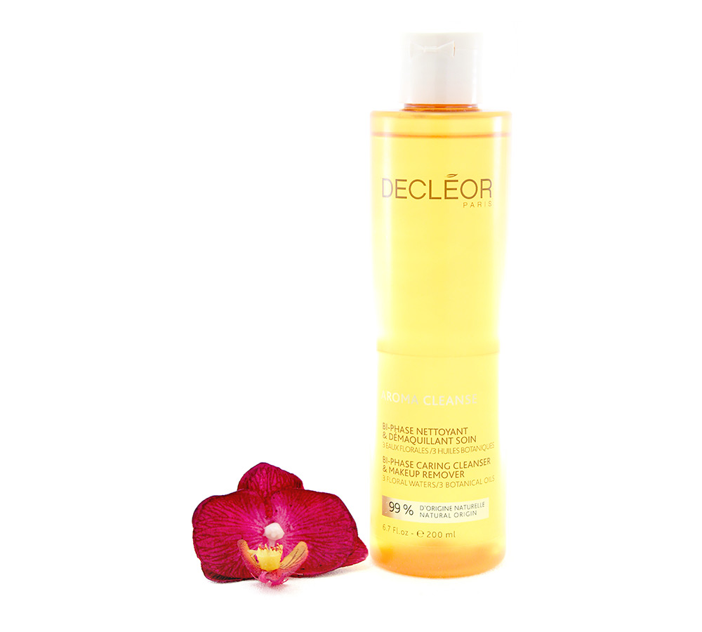 462000 Decleor Aroma Cleanse Bi-Phase Caring Cleanser & Makeup Remover 200ml