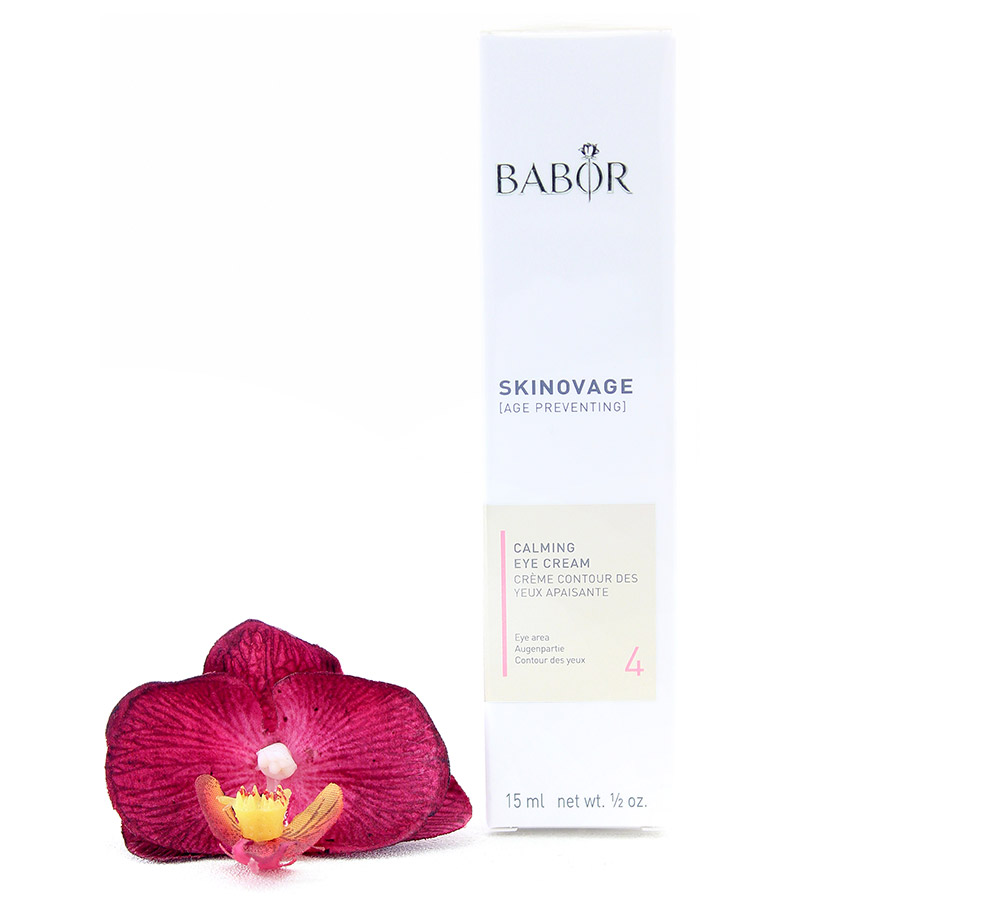 442100-1 Babor Skinovage Calming Eye Cream 15ml New Formula 2018