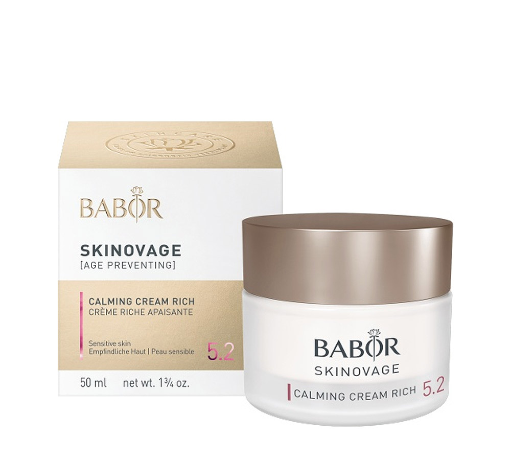 442300 Babor Skinovage Calming Cream Rich 50ml New Formula 2018