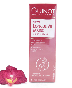 26512265-247x300 Guinot Longue Vie Mains - Youth Cream Anti-Dark Spots Hands 75ml
