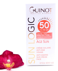 26515040-247x300 Guinot Sun Logic Age Sun - Anti-Ageing Sun Cream SPF50 50ml