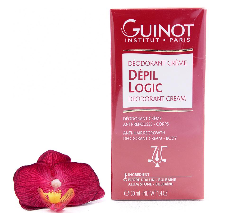 26527903 Guinot Depil Logic Anti-Hair Regrowth Deodorant Cream 50ml