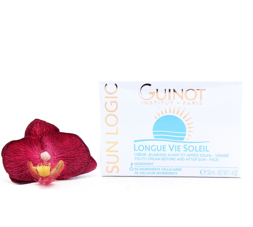 515010-510x459 Guinot Sun logic Longue Vie Soleil - Youth Cream Before and After Sun - Face 50ml