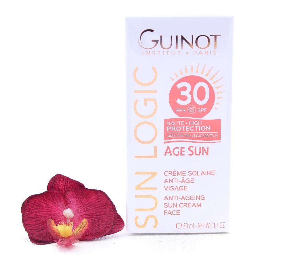 515050 Guinot Sun logic Age Sun - Anti-Aging Sun Cream Face SPF30 50ml