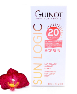 515100-247x300 Guinot Sun logic Age Sun - Anti-Aging Sun Lotion Body SPF20 150ml