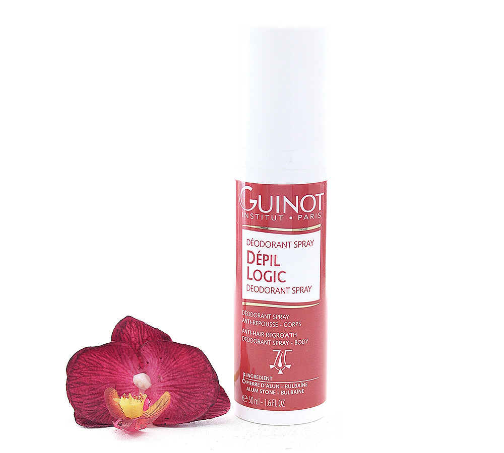 527913 Guinot Deodorant Spray Depil Logic 50ml