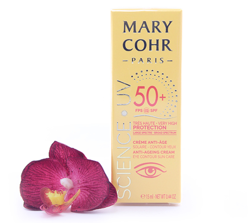 893860-510x459 Mary Cohr Science UV Anti-Ageing Cream - Eye Countour Sun Care SPF50+ 15ml