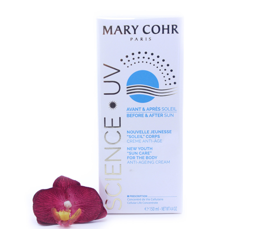 """893940-510x459 Mary Cohr Science UV New Youth """"Sun Care"""" For The Body Anti-Ageing Cream 150ml"""