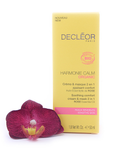 971217-247x300 Decleor Harmonie Calm Organic - Soothing Comfort Cream & Mask 2 in 1 50ml