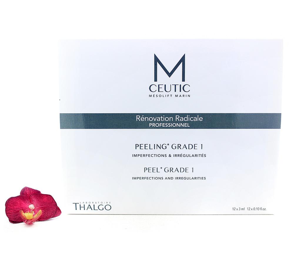 KT17020 Thalgo M-Ceutic Peel Box Grade 1 12x3ml