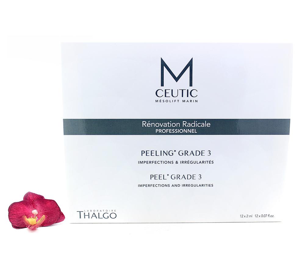 KT17022 Thalgo M-Ceutic Peel Box Grade 3 12x2ml