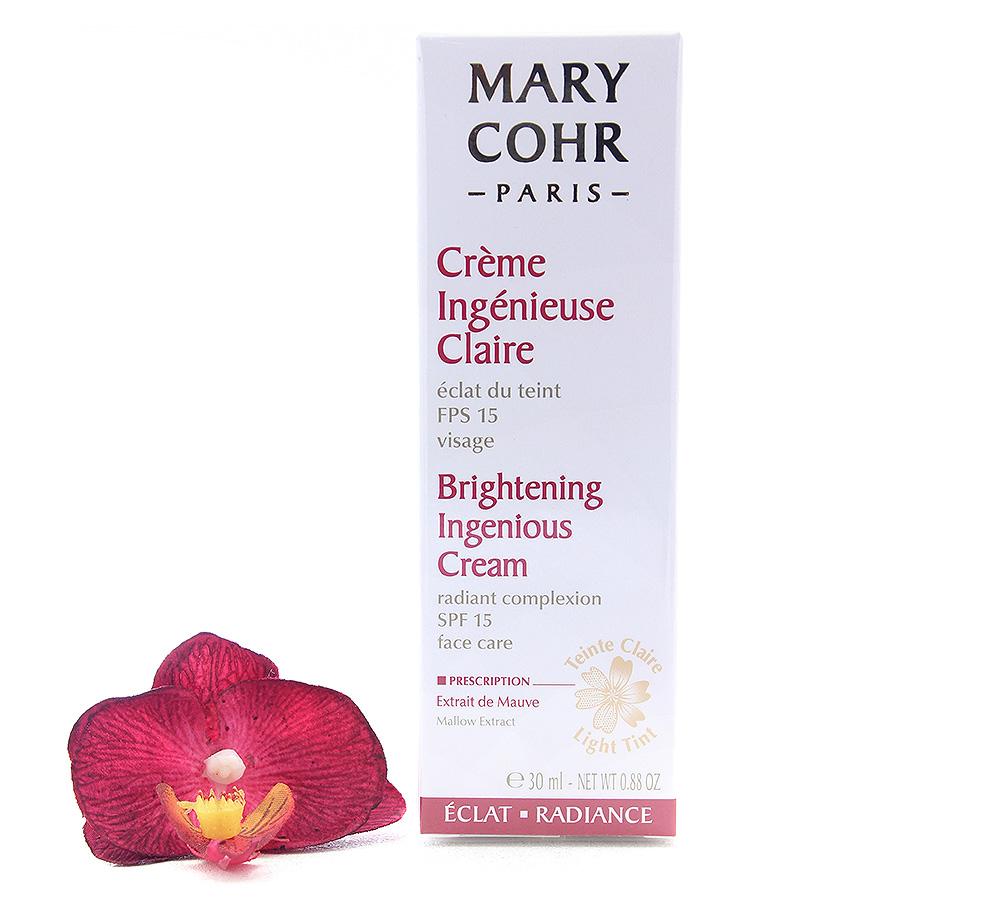 894070 Mary Cohr Brightening Ingenious Cream SPF15 30ml