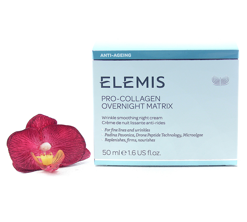 EL50143 Elemis Pro-Collagen Overnight Matrix - Wrinkle Smoothing Night Cream 50ml
