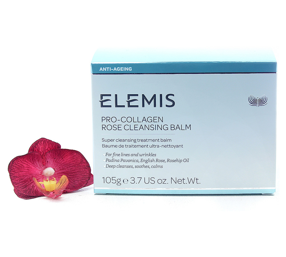EL50173 Elemis Pro-Collagen Rose Cleansing Balm 105g