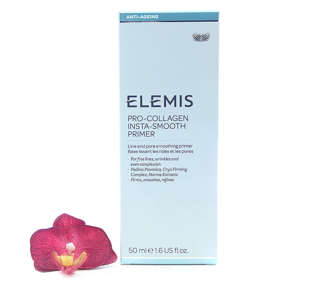EL50986 Elemis Pro-Collagen Insta-Smooth Primer - Line And Pore Smoothing Primer 50ml