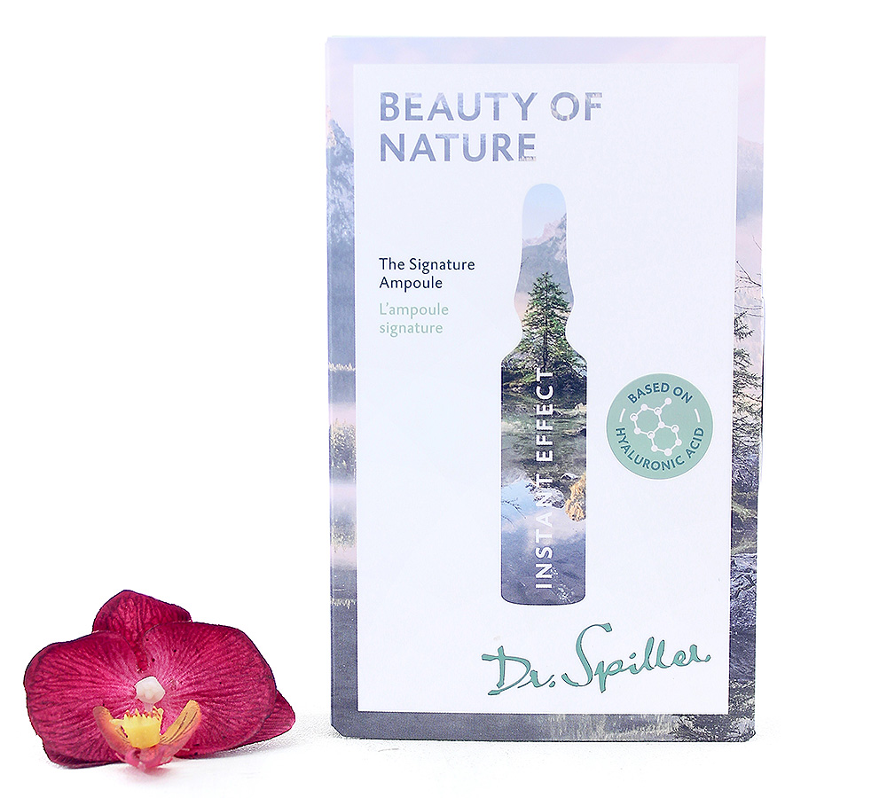 120140 Dr. Spiller Instant Effect Beauty of Nature - The Signature Ampoule 7x2ml