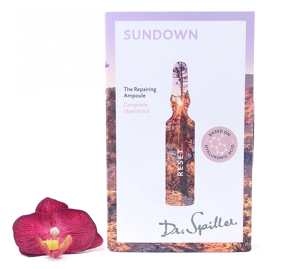 120143 Dr. Spiller Reset Sundown - The Repairing Ampoule 7x2ml
