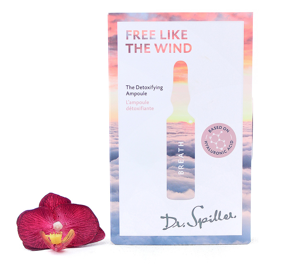 120147 Dr. Spiller Breath - Free like the Wind The Detoxifying Ampoule 7x2ml