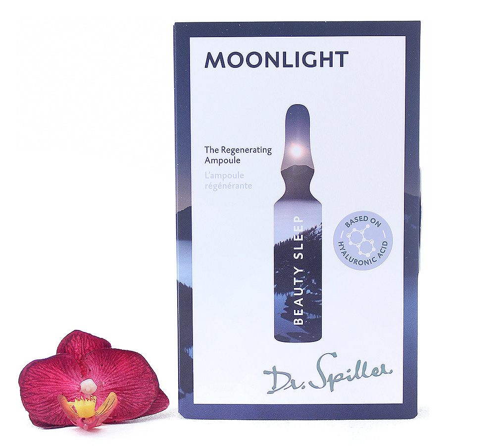120148 Dr. Spiller Beauty Sleep - Moonlight The Regenerating Ampoule 7x2ml
