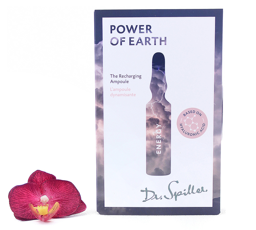 120151 Dr. Spiller Energy - Power of Earth The Recharging Ampoule 7x2ml
