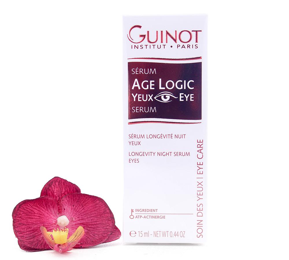 26501610 Guinot Age Logic Serum Yeux - Serum Eyes 15ml