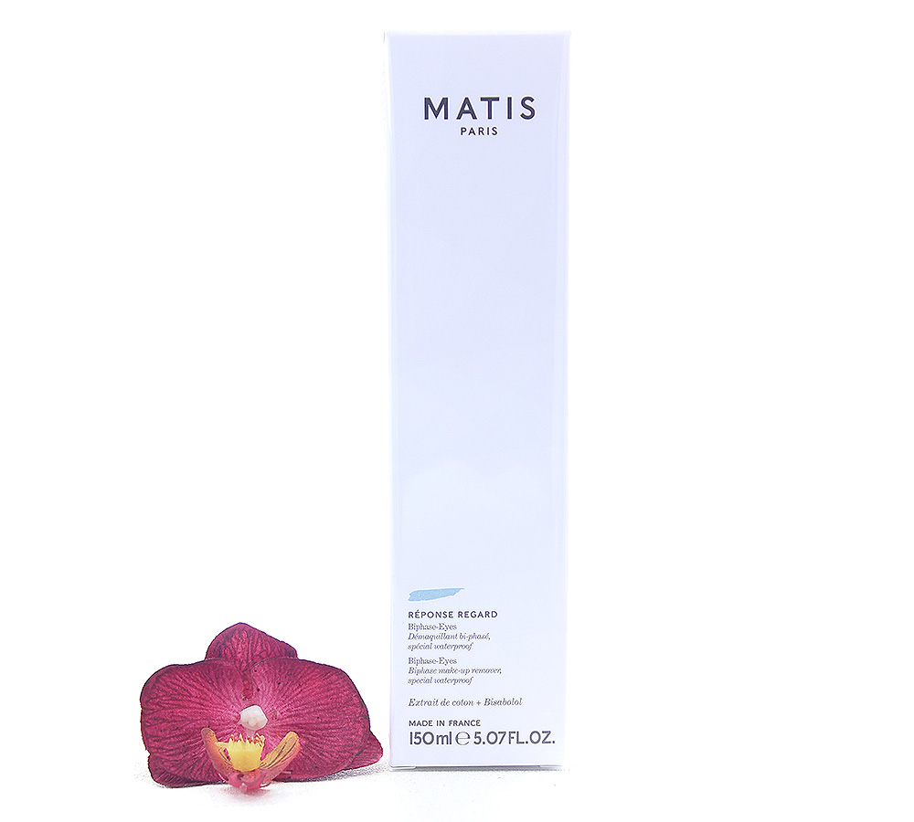 37550 Matis Reponse Regard - Biphase Eyes Make-Up Remover 150ml