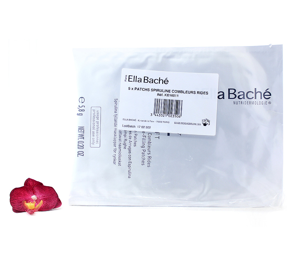 KE16011 Ella Bache Intensive Wrinkle Plumping Patches with Spirulina 5x5.8g